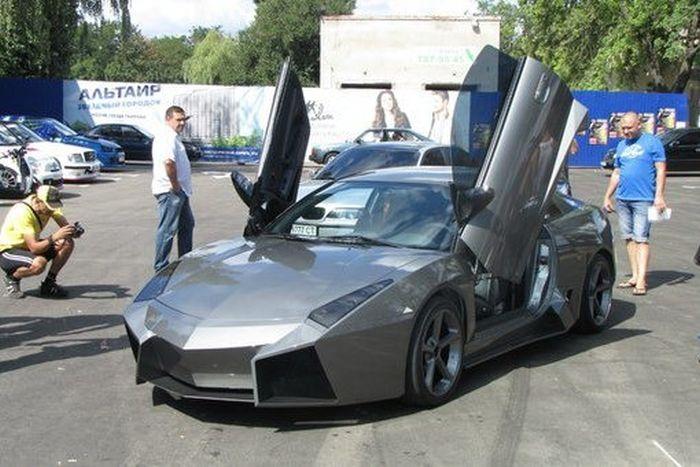 Como faz? Lamborghini Reventon genérica 62