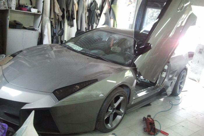 Como faz? Lamborghini Reventon genérica 65