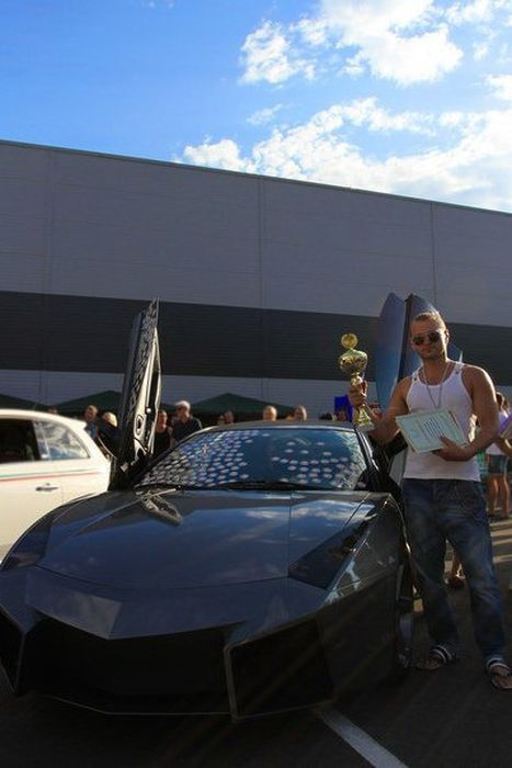 Como faz? Lamborghini Reventon genérica 66