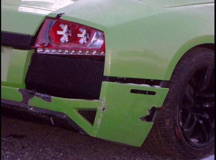 Americano bate Lamborghini que ganhou em concurso 07