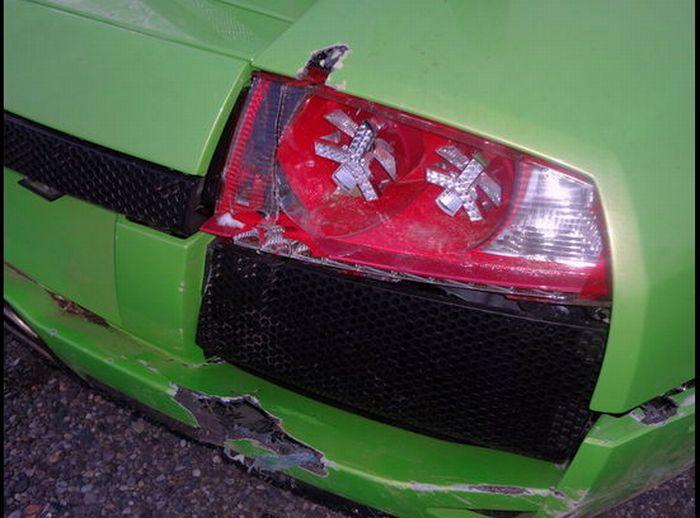 Americano bate Lamborghini que ganhou em concurso 09