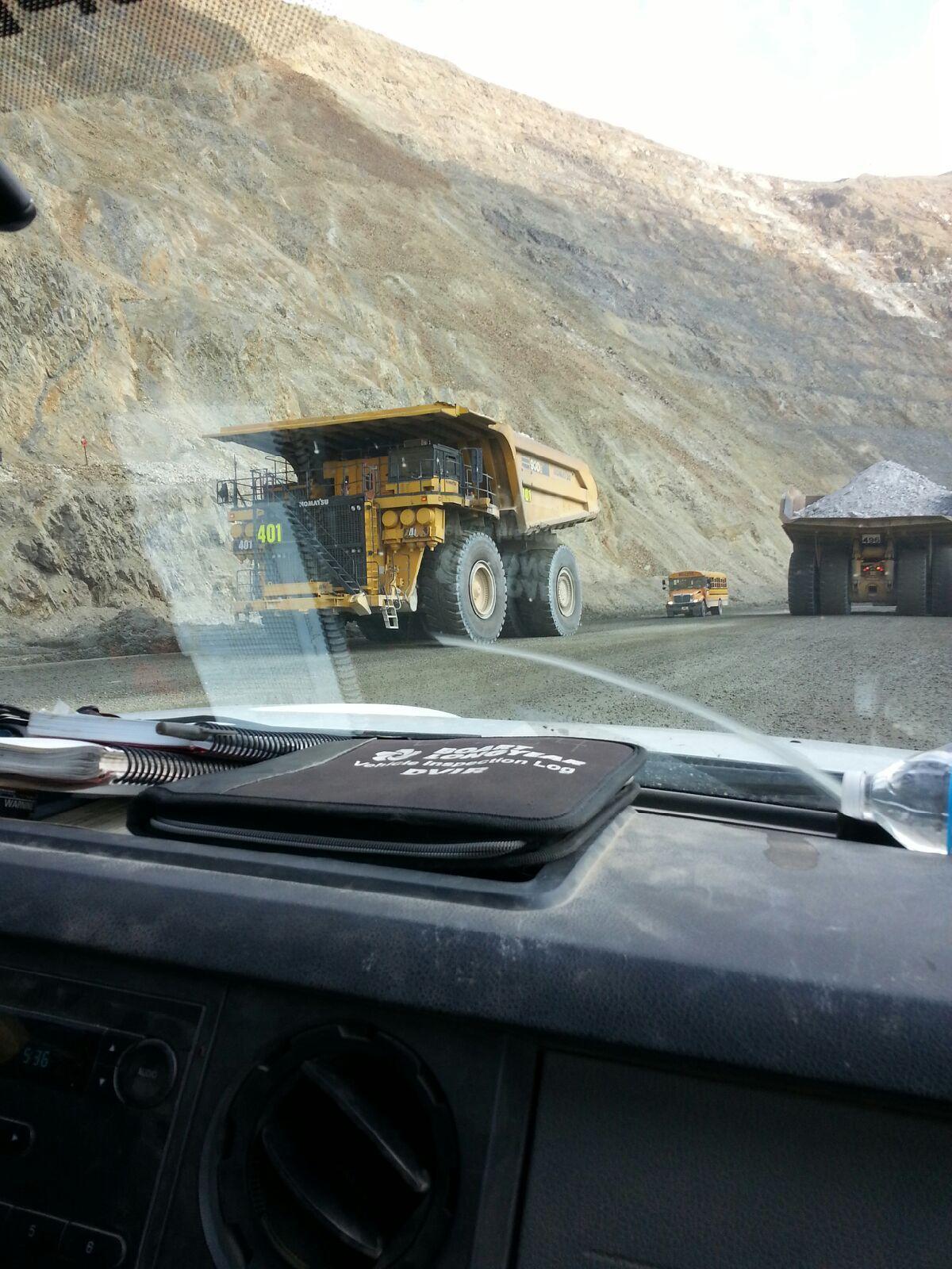 Quão grande é o maior caminhão basculante do mundo?