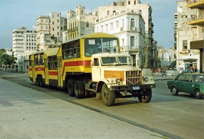 O transporte público cubano 02