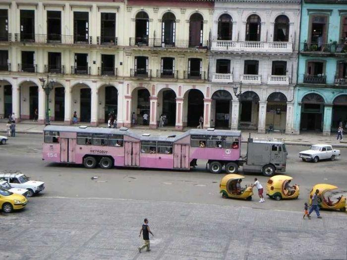 O transporte público cubano 05