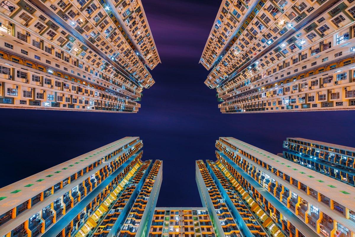 Fotos deslumbrantes de Hong Kong, de alto a baixo, revelam a beleza oculta dos arranha-céus 03