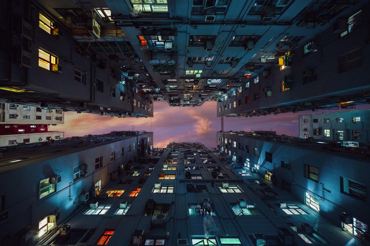 Fotos deslumbrantes de Hong Kong, de alto a baixo, revelam a beleza oculta dos arranha-céus 04