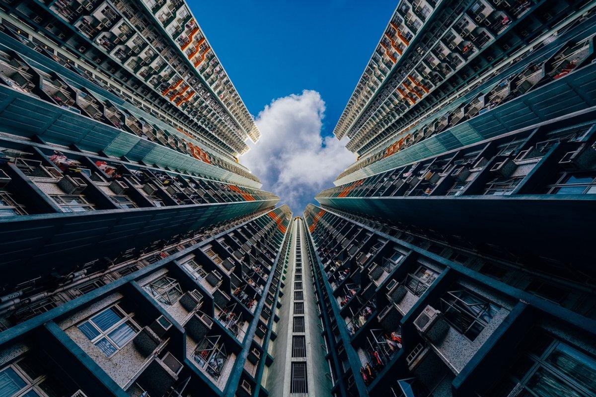 Fotos deslumbrantes de Hong Kong, de alto a baixo, revelam a beleza oculta dos arranha-céus 06