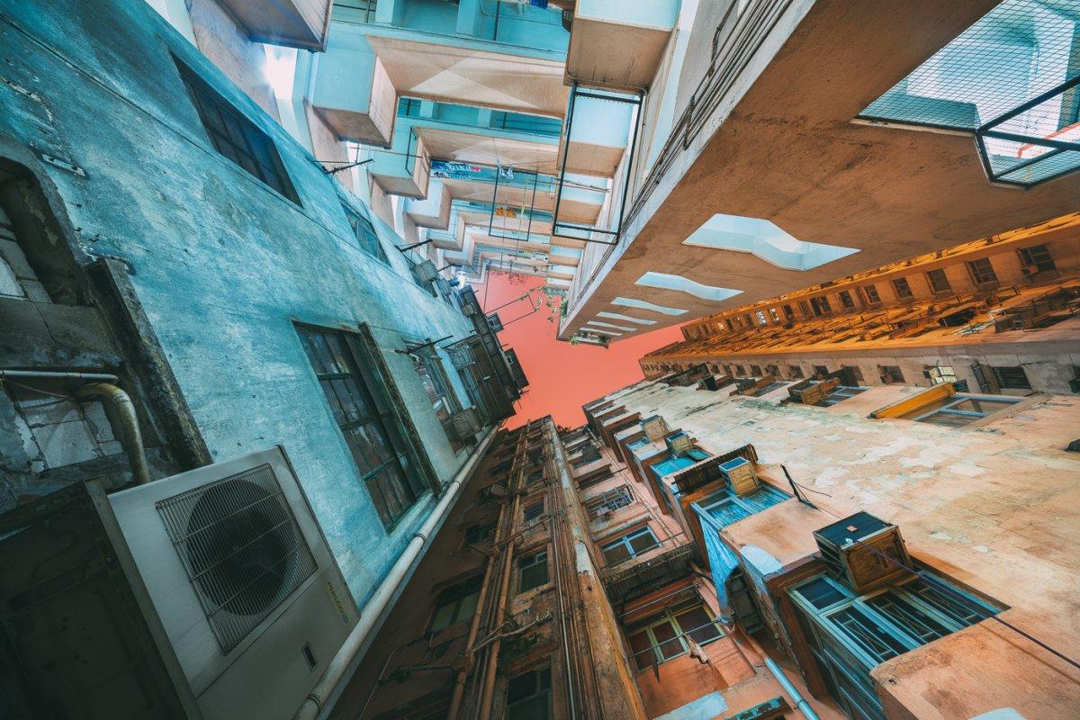 Fotos deslumbrantes de Hong Kong, de alto a baixo, revelam a beleza oculta dos arranha-céus 09