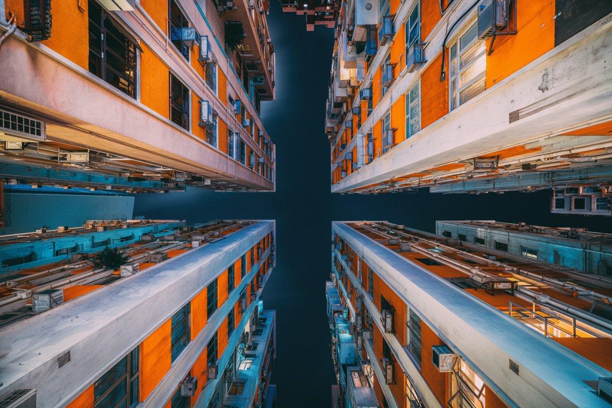 Fotos deslumbrantes de Hong Kong, de alto a baixo, revelam a beleza oculta dos arranha-céus 12