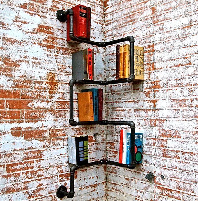 Designs criativos de estantes e aparadores 05