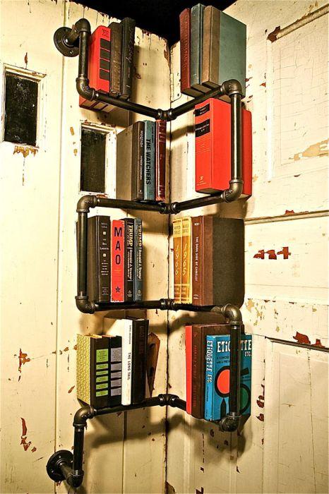 Designs criativos de estantes e aparadores 06