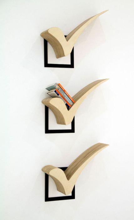 Designs criativos de estantes e aparadores 19