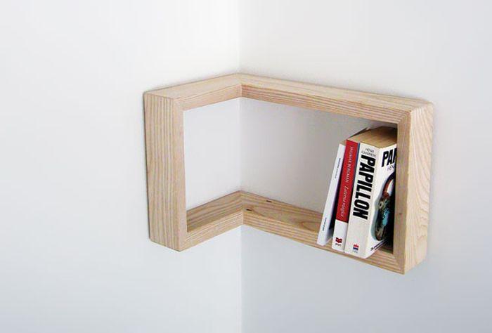 Designs criativos de estantes e aparadores 23