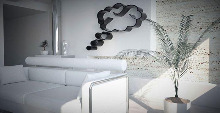Designs criativos de estantes e aparadores 36
