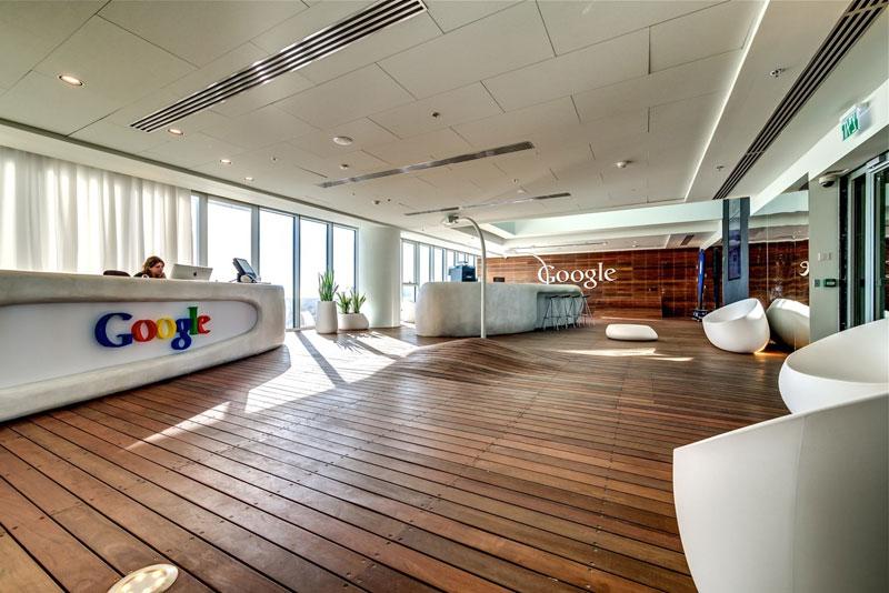 Novos escrit�rios do Google em Tel Aviv 01