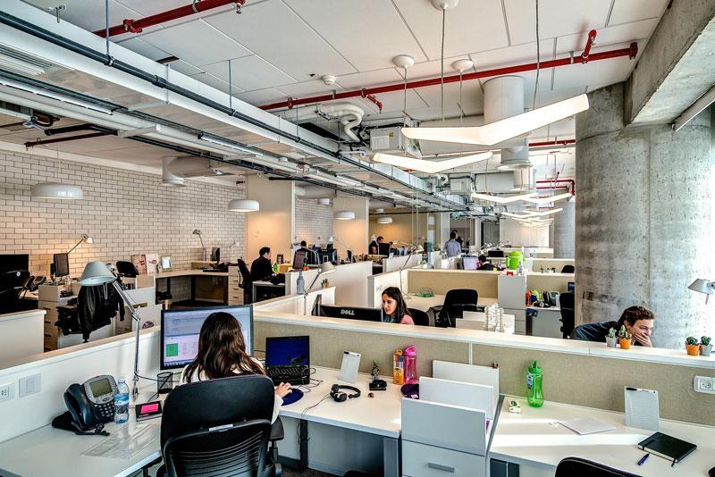 Novos escritórios do Google em Tel Aviv 10