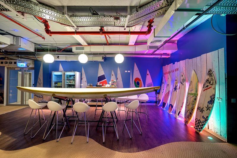 Novos escritórios do Google em Tel Aviv 11