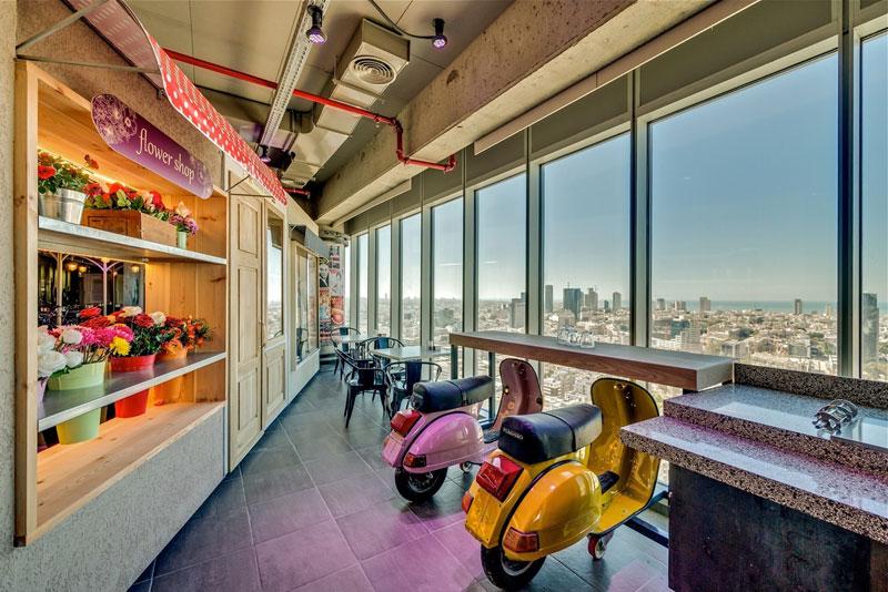 Novos escritórios do Google em Tel Aviv 13