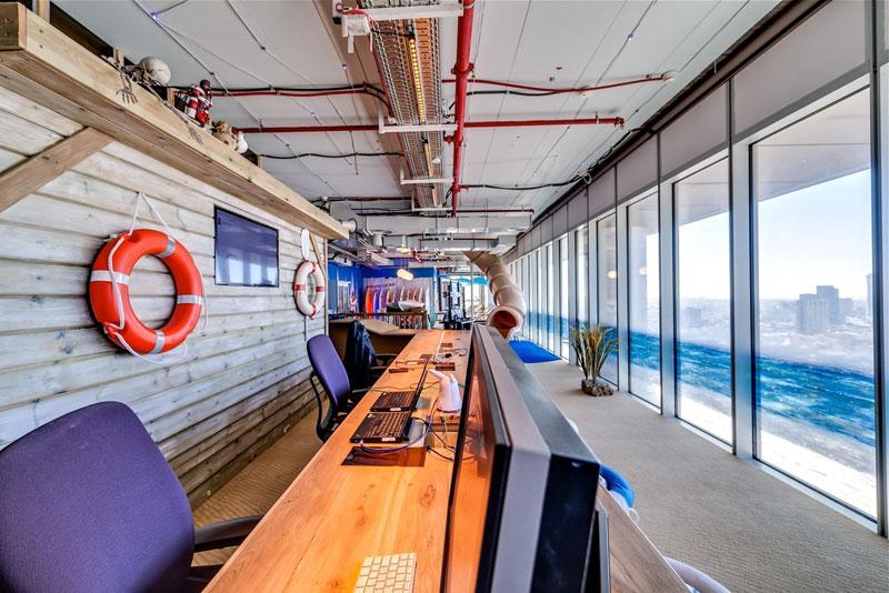 Novos escrit�rios do Google em Tel Aviv 27