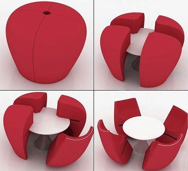 Interessantes ideias de design de interiores 35
