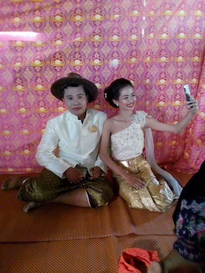 Noiva tailandesa com maquiagem horrorosa ganha nova sessão de fotos de um famoso fotógrafo gentil 04