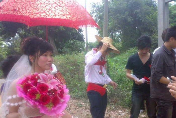 Celebração da banana no casamento chinês 04