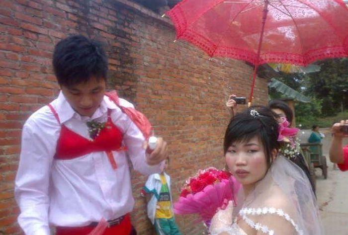 Celebração da banana no casamento chinês 06