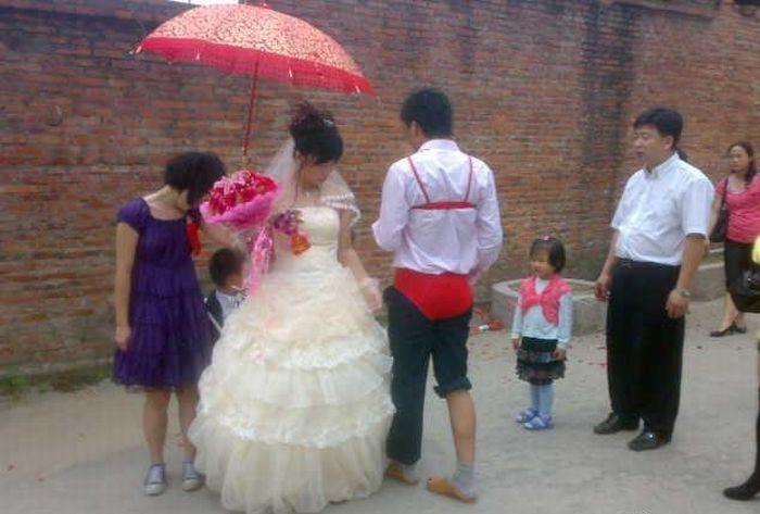 Celebração da banana no casamento chinês 07