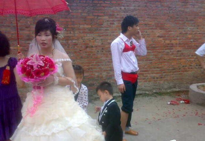 Celebração da banana no casamento chinês 08