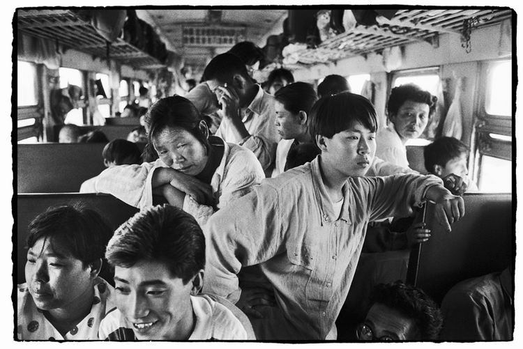 Os chineses no trem  06