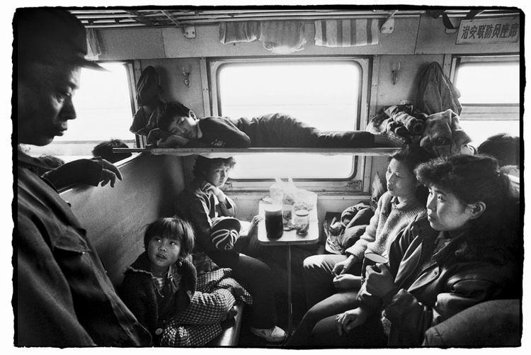 Os chineses no trem  07