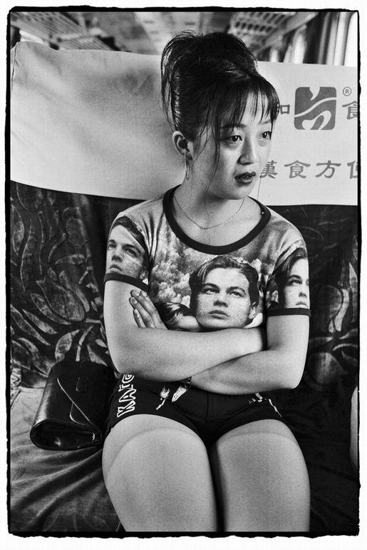 Os chineses no trem  13