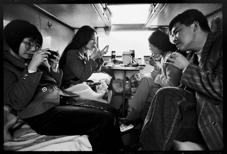 Os chineses no trem  14
