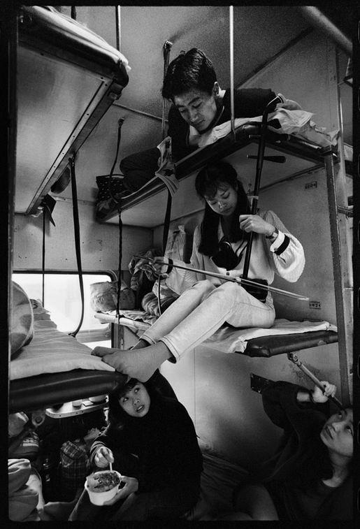 Os chineses no trem  16