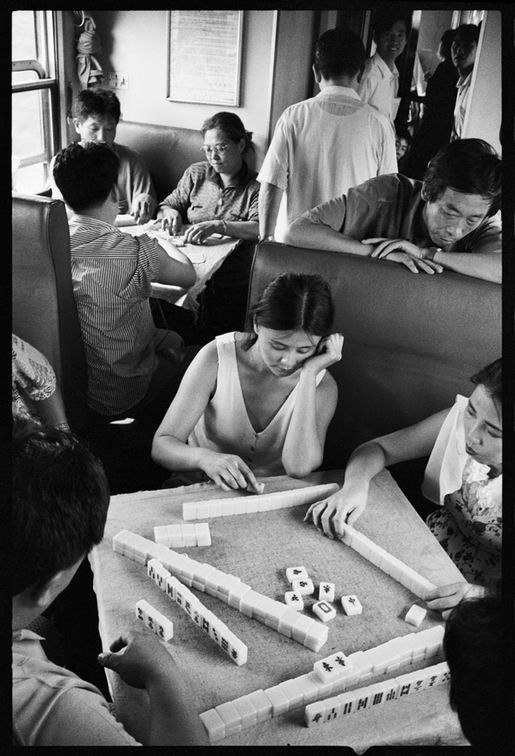 Os chineses no trem  19