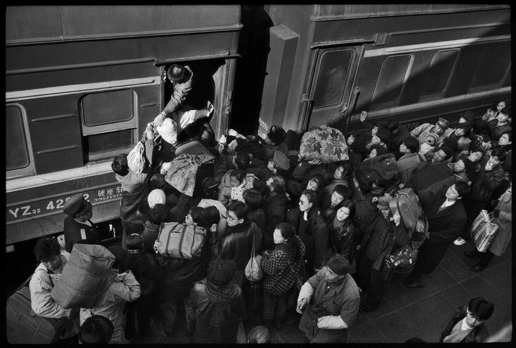 Os chineses no trem  21