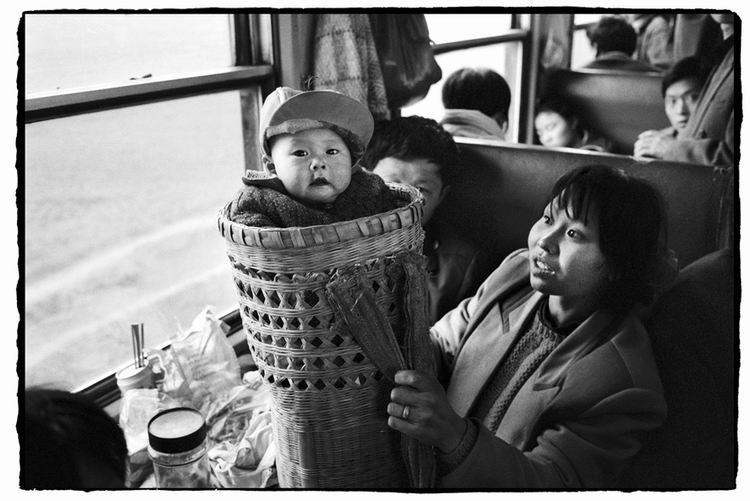 Os chineses no trem  23