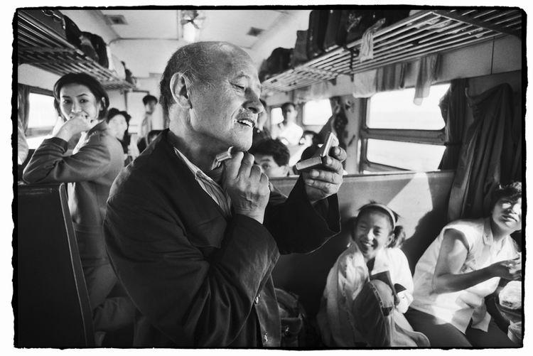 Os chineses no trem  26