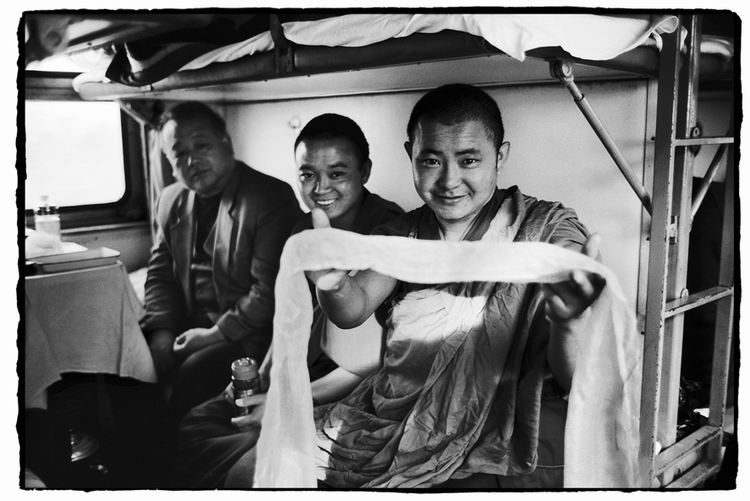 Os chineses no trem  27