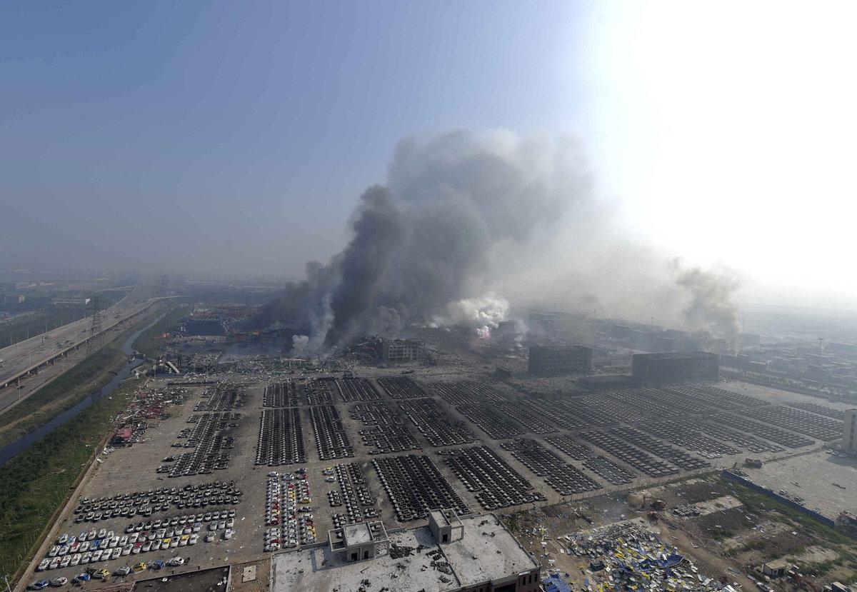 Explosões de Tianjin: a devastação do décimo maior porto do mundo 02