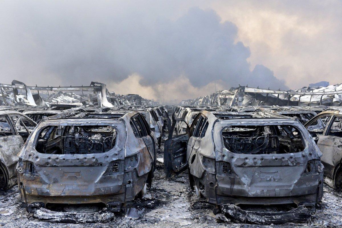 Explosões de Tianjin: a devastação do décimo maior porto do mundo 06