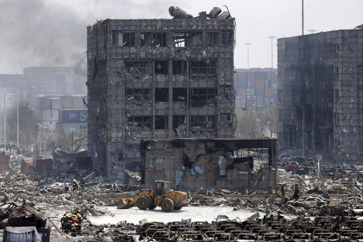 Explosões de Tianjin: a devastação do décimo maior porto do mundo 08