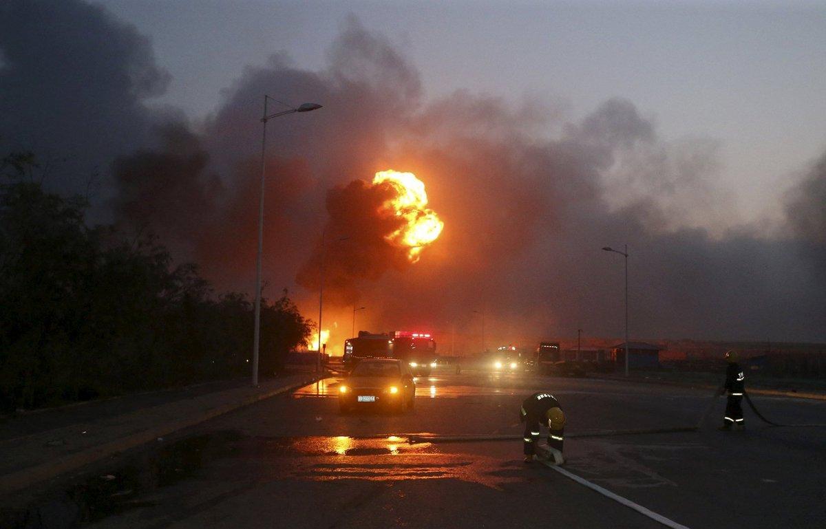 Explosões de Tianjin: a devastação do décimo maior porto do mundo 09