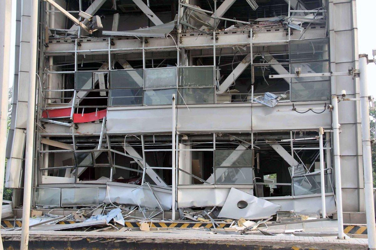 Explosões de Tianjin: a devastação do décimo maior porto do mundo 10