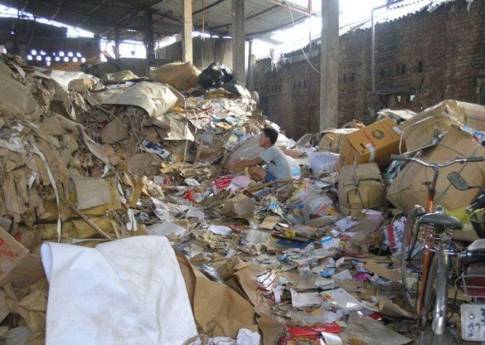 Fábrica de papel higiênico na China 03