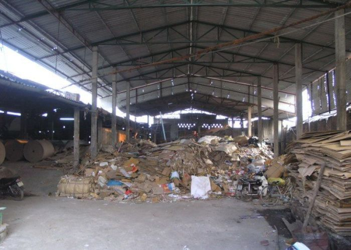 Fábrica de papel higiênico na China 04