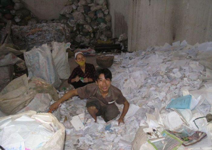 Fábrica de papel higiênico na China 05