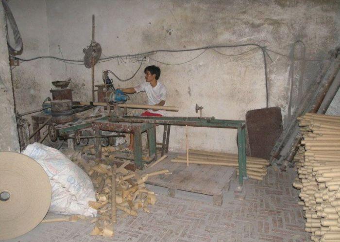 Fábrica de papel higiênico na China 13