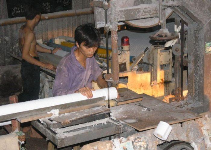 Fábrica de papel higiênico na China 15