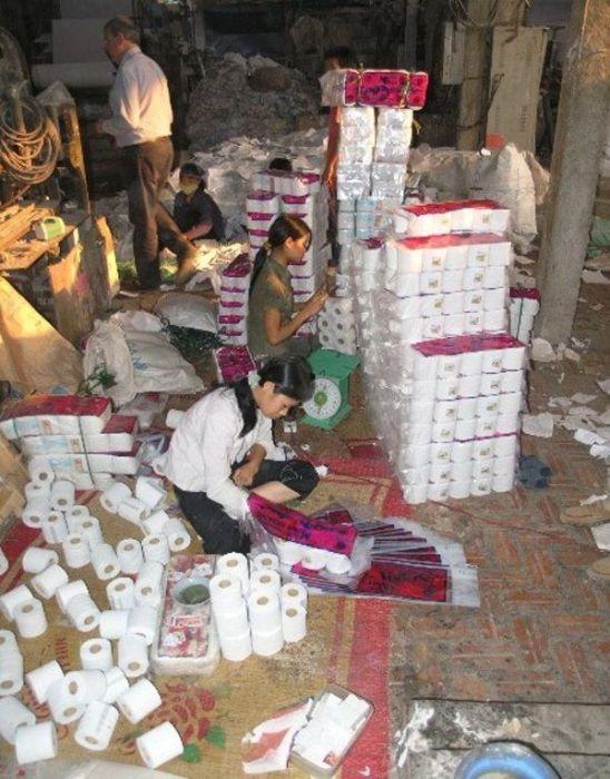 Fábrica de papel higiênico na China 17